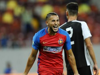 """A venit tatal lui Hamroun la palat!"" Dialog SENZATIONAL: Cum a fost convins Becali sa-l lase pe Hamroun sa plece de la Steaua"