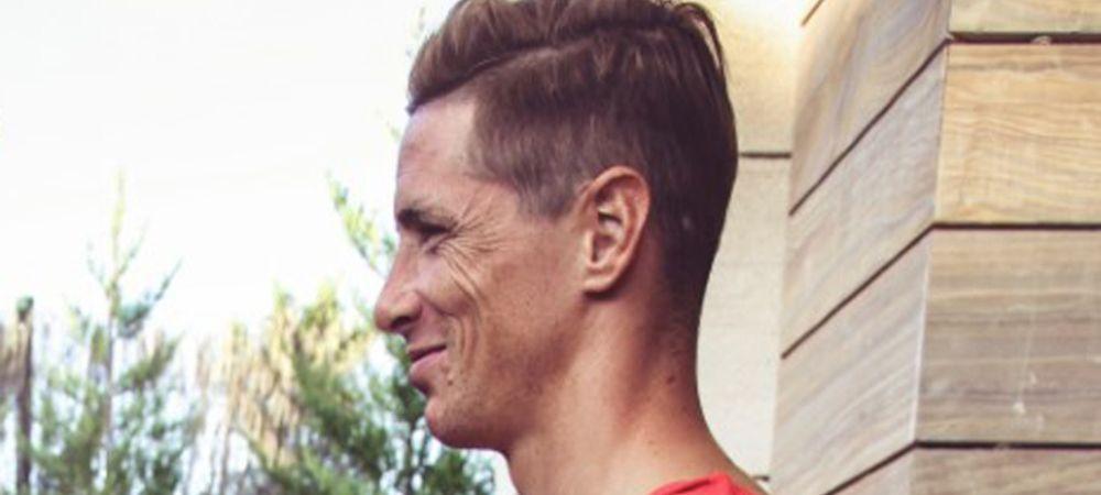 Tatuajul URIAS pe care Torres si l-a facut in startul acestui sezon din Spania. FOTO