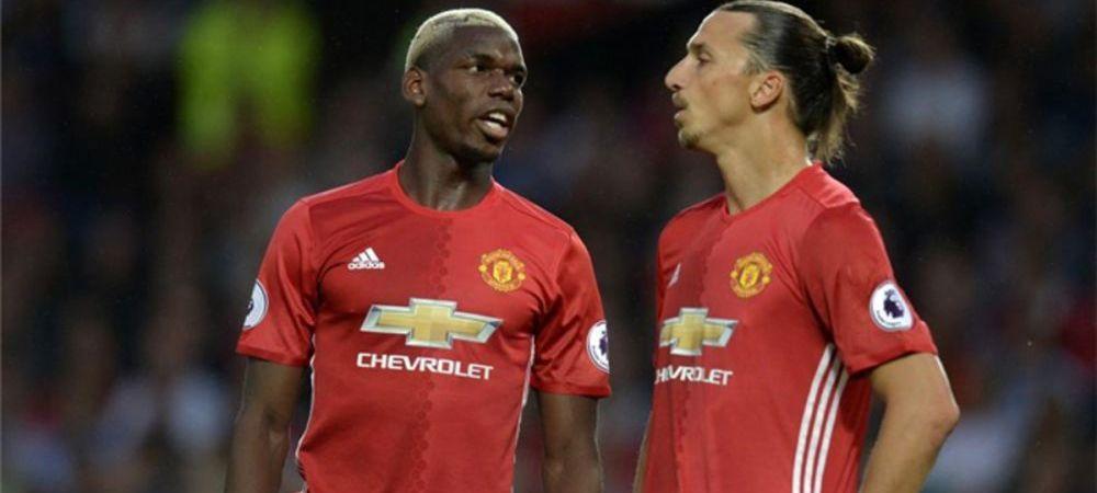 Au cheltuit 160 de milioane pe transferuri, dar au luat o decizie incredibila! De ce au primit interzis Zlatan si Pogba sa faca schimb de tricouri