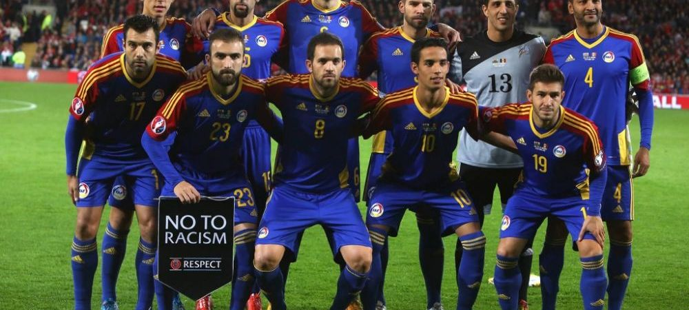 Un nou record NEGATIV in fotbalul international! Andorra, 83 de meciuri consecutive fara victorie