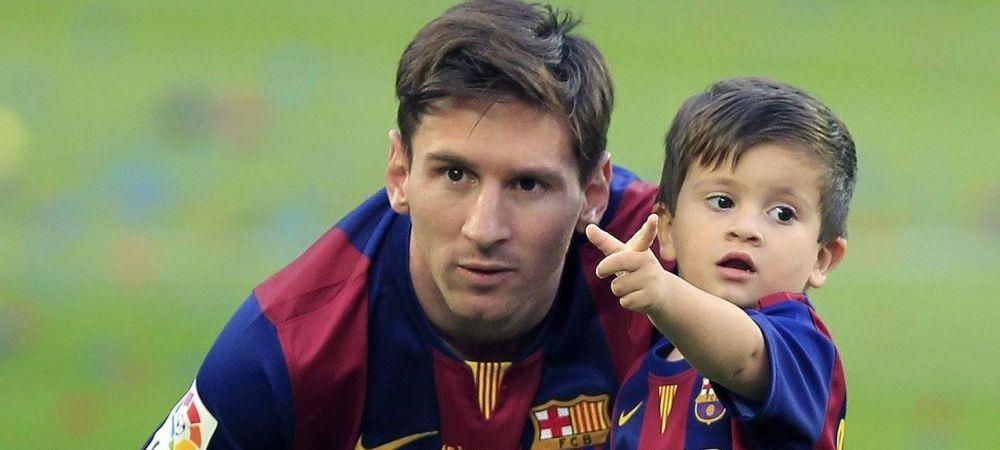 Dinastia Messi continua la Barcelona! Fiul lui Messi a semnat cu catalanii la doar 3 ani si jumatate!