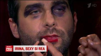 Irina l-a LOVIT in direct pe un prezentator TV! Replica dupa care s-a infuriat :)