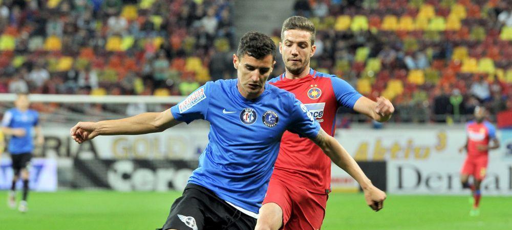 Noul jucator de 3 mil euro al lui Hagi, dorit de Becali, a semnat azi prelungirea cu Viitorul dupa ce a jucat pentru nationala