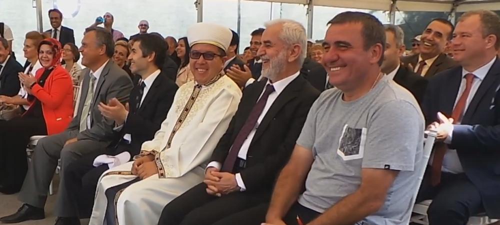 Hagi a fost invitat de guvernul Turciei sa deschida un centru sportiv din Constanta. VIDEO