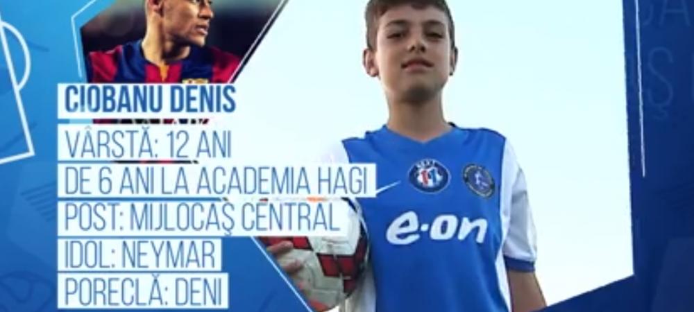 Campionii Viitorului | Pustiul de 12 ani care isi fenteaza adversarii la fel ca Neymar. In octombrie va juca pentru Romania la Cupa Natiunilor Danone