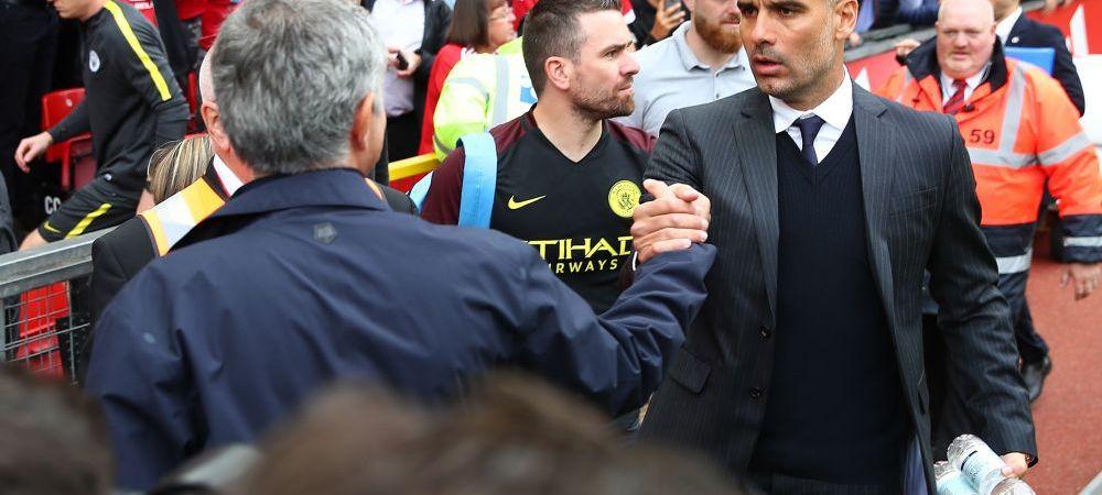 Mourinho nu scapa de cosmarul Pep   City castiga pe Old Trafford cu golurile lui De Bruyne si Iheanacho. Ibra a inscris pentru United: Man United 1-2 Man City