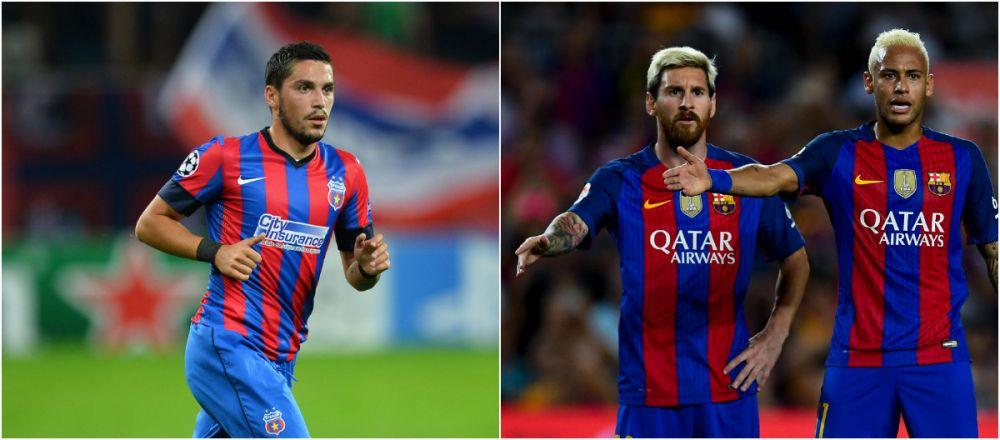 Viseaza la Barcelona. Via Anderlecht! Stanciu s-a vopsit ca Messi si Neymar dupa transferul in Belgia. Cum arata acum :)