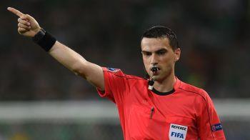 Meci urias pentru romanul Hategan: UEFA l-a delegat la Barcelona - Celtic, duel transmis MARTI, de la 21:45, IN DIRECT la ProTV