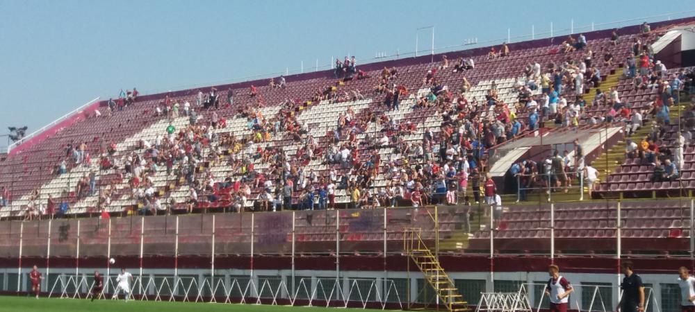 AFC Rapid 5-0 Rapid Baneasa. Tot astazi ia startul si Rapidul Clubului Sportiv! Suporterii au stat la coada pana la pauza meciului la Giulesti