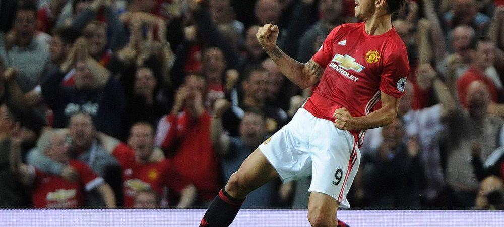 Performanta FABULOASA reusita de Zlatan in derby-ul din Manchester! Sefii lui United au reactionat imediat: ce propunere i-au facut
