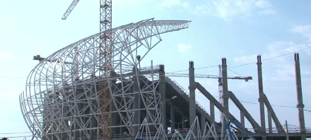 Stadion nou, ambitii vechi :) Arena de lux a Craiovei trebuie sa fie gata pana la ziua Olgutei Vasilescu! Cum arata acum