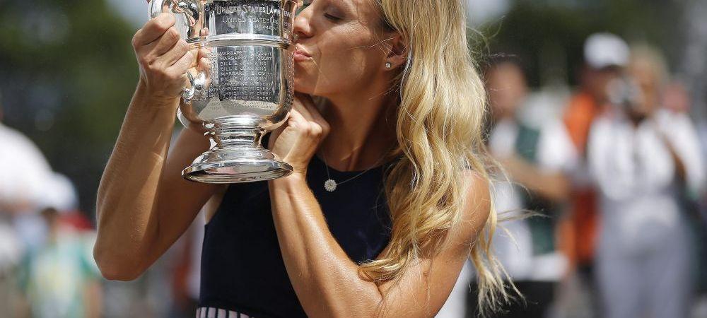 """Vreau sa raman nr. 1 mondial cat mai mult timp! Toata viata am asteptat asta!"" Mesajul lui Kerber, noul nr. 1 mondial, dupa US Open"