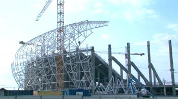 Oltenii cer ca meciul cu Danemarca sa se joace pe noul Oblemenco! Cum arata acum noul stadion din Banie. VIDEO
