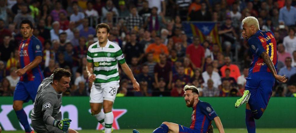Barcelona este principala favorita la castigarea Champions League dupa 7-0 cu Celtic! Ce cota are Real Madrid sa intre in istorie