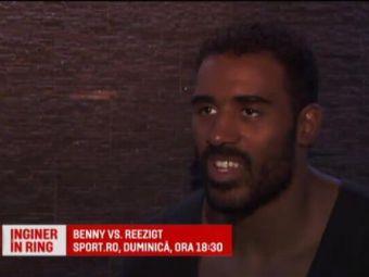 Adegbuy se bate duminica la Sport.ro! Povestea de film a uriasului Benny! Cum a ajuns in Romania