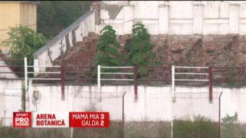 Un stadion din Timisoara s-a transformat in GRADINA BOTANICA, dar gazduieste in continuare meciuri :) VIDEO