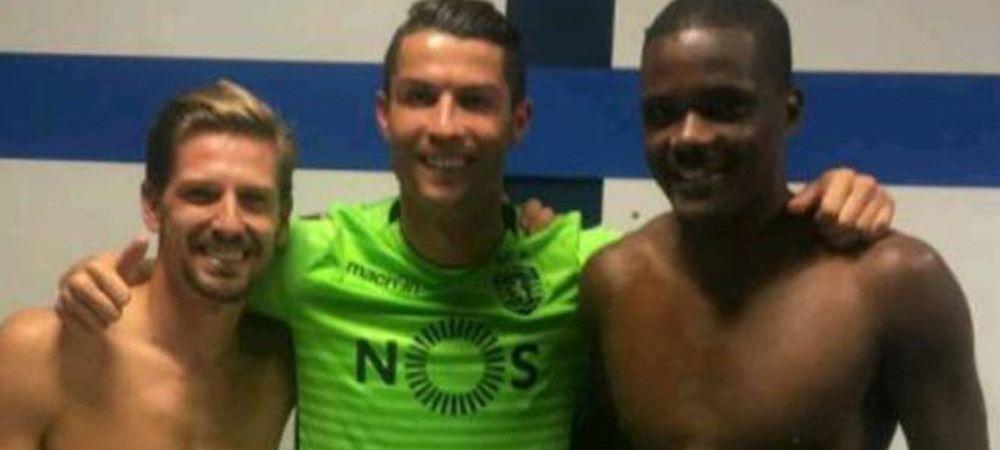 Ce si-a scris Cristiano Ronaldo pe CHILOTI :)) Detaliul din vestiar vazut de toti fanii, dupa ce s-a dezbracat