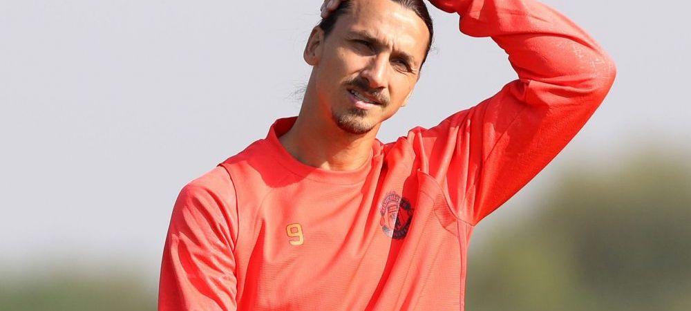 N-a mai marcat, dar a atras toate privirile cand a intrat! Ce tatuaj IMENS si-a facut Zlatan pe spate. FOTO