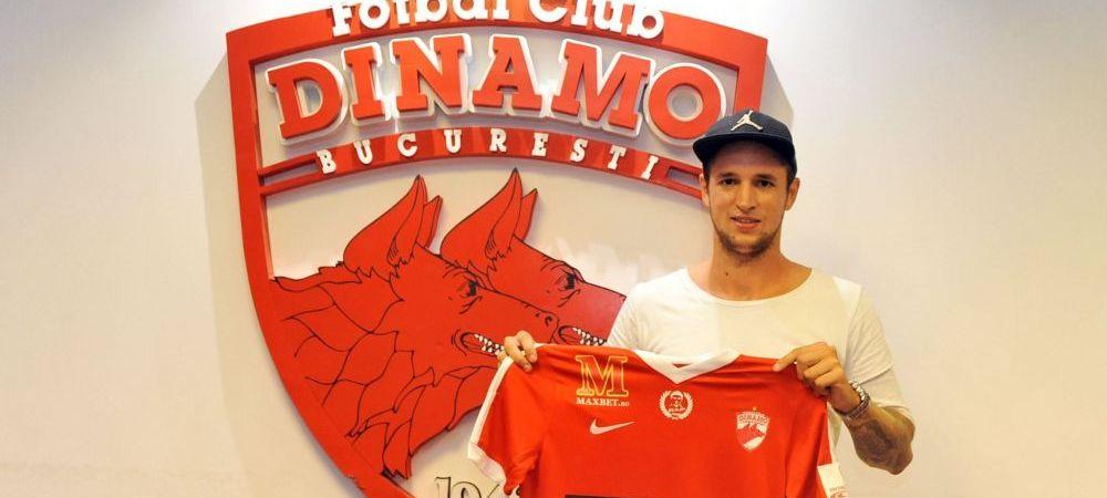 Cel mai nou transfer anuntat OFICIAL de Dinamo. Fundasul din Austria adus de Ioan Andone