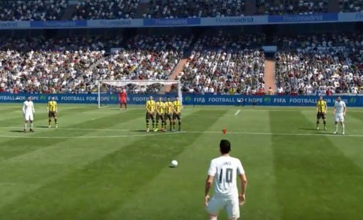 TOP 10 executanti de lovituri libere in FIFA 17! Messi e abia pe locul 5, Ronaldo n-a avut loc