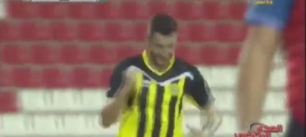 """Mihai Costea, super gol in Emirate! """"Nila"""" il asteapta si pe fratele sau la arabi. VIDEO"""