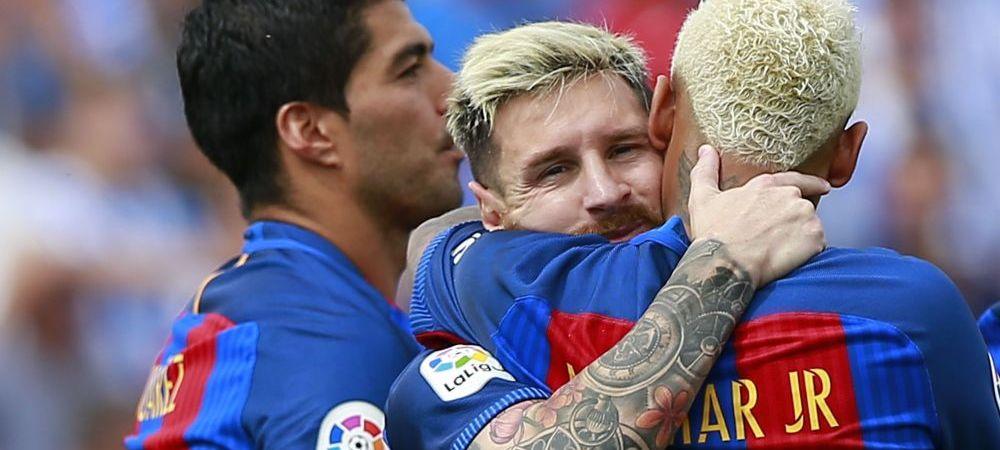 Suarez a reusit PASA ANULUI!Atingerea fenomenala cu care l-a lansat pe Neymar la scorul de 3-0 pentru Barcelona - VIDEO