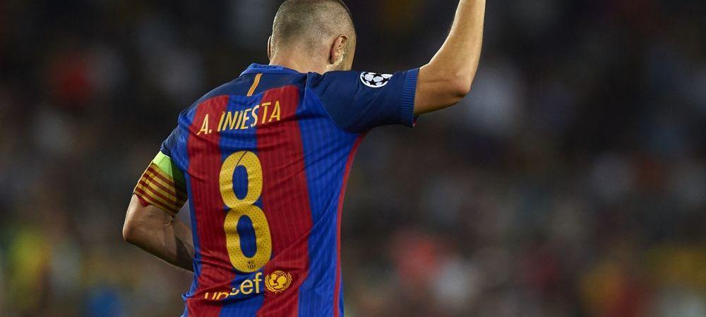 Sezonul in care Iniesta il depaseste pe Puyol la meciuri in tricoul Barcelonei! Cum arata TOP 10 si cine e REGELE de neegalat