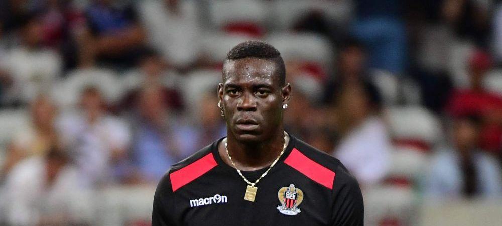 Cosmar pentru Balotelli! De ce a fost SCOS DIN LOT de Nice, dupa ce a marcat doua goluri la debut
