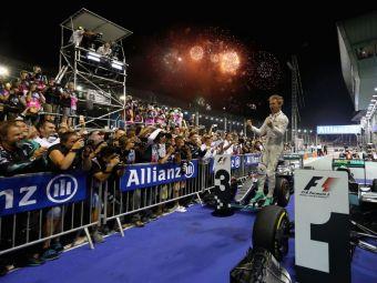 Rosberg, campion la Singapore! Cum arata topul mondial din F1 in acest moment