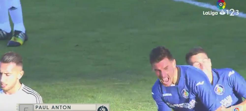 Gol senzational marcat de Anton pentru Getafe! A ridicat publicul in picioare cu o TORPILA de la 20 de metri! VIDEO