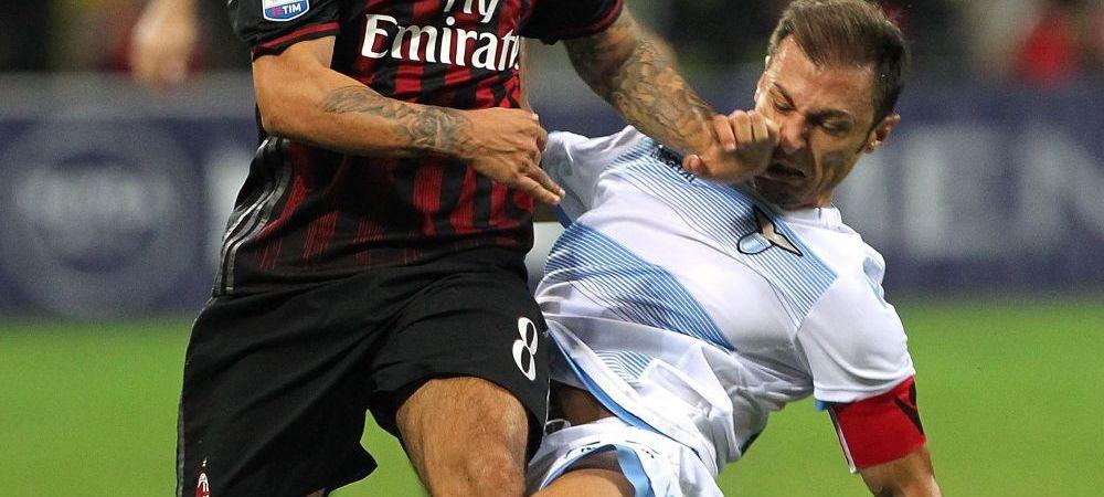 Dupa ce a dat gol etapa trecuta, Radu Stefan a comis-o cu Milan! Lazio pierde cu 2-0, dupa ce fundasul roman a facut hent in careu