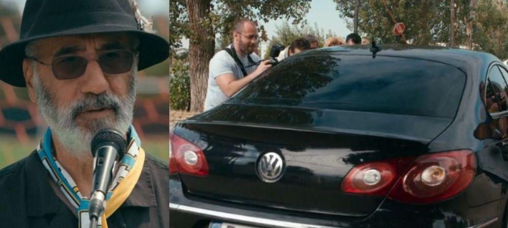 GENIAL :)) Ce numar are la masina patronul lui Atletico Textila!Nea Gica a fost eliberat din inchisoare - VIDEO