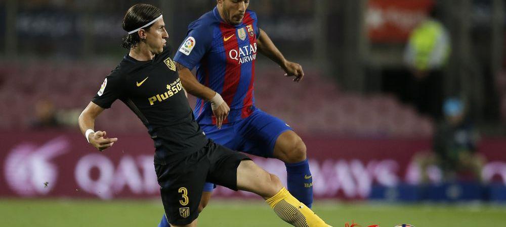 """Cum arata piciorul lui Filipe Luis dupa duelul cu Suarez de pe Camp Nou. Uruguayanul, dupa meci: """"Ori suntem barbati, ori nu mai suntem..."""" :) FOTO"""