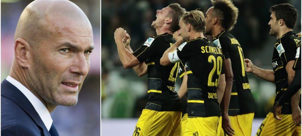 """""""Cuvantul pe care il cautati este MAGNIFIC""""! Borussia e gata de duelul cu Real, marti la 21.45 in direct la ProTV! Primul mare cosmar din cariera lui Zidane"""