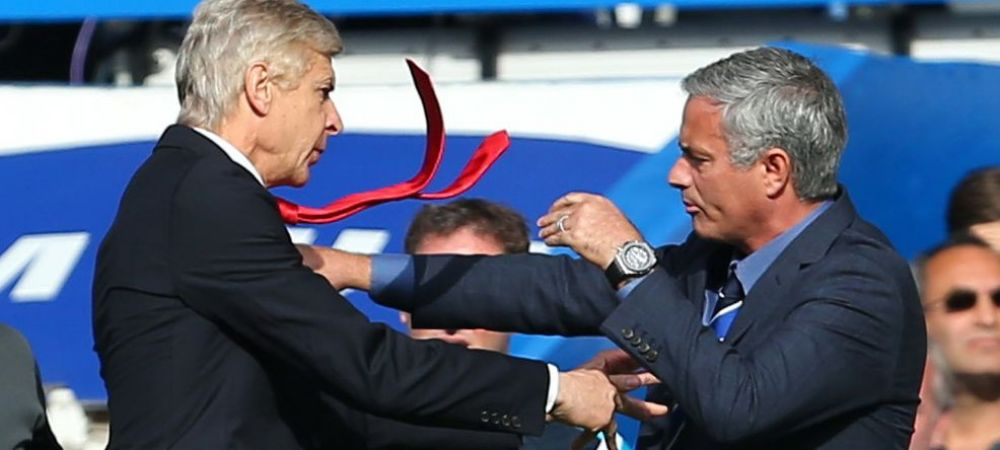 """Dezvaluire uluitoare a lui Mourinho. """"Daca il prind pe Wenger in afara stadionului ii sparg fata!"""" De ce vrea sa il bata"""