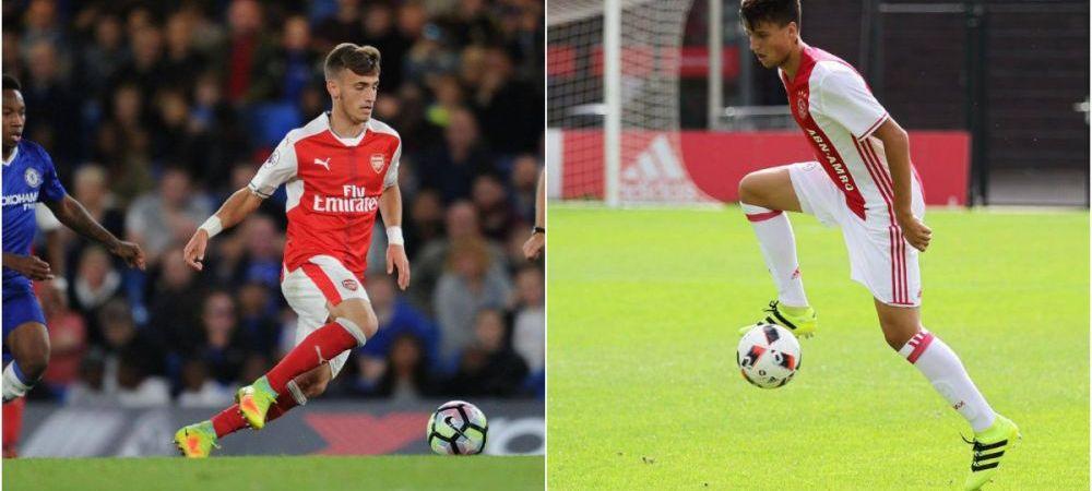 Pustii-minune Vlad Dragomir si Ricardo Farcas au un weekend perfect. Dragomir a jucat atat pentru Arsenal U23, cat si pentru U18, si a marcat un gol; Farcas a inscris si el