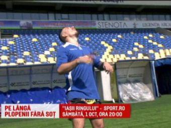 Vikingul Amansio, golgheter in liga a patra! Cand nu se bate in ring inscrie la fel ca Suarez! Gala Iasii ringului pe 1 oct. la Sport.ro!