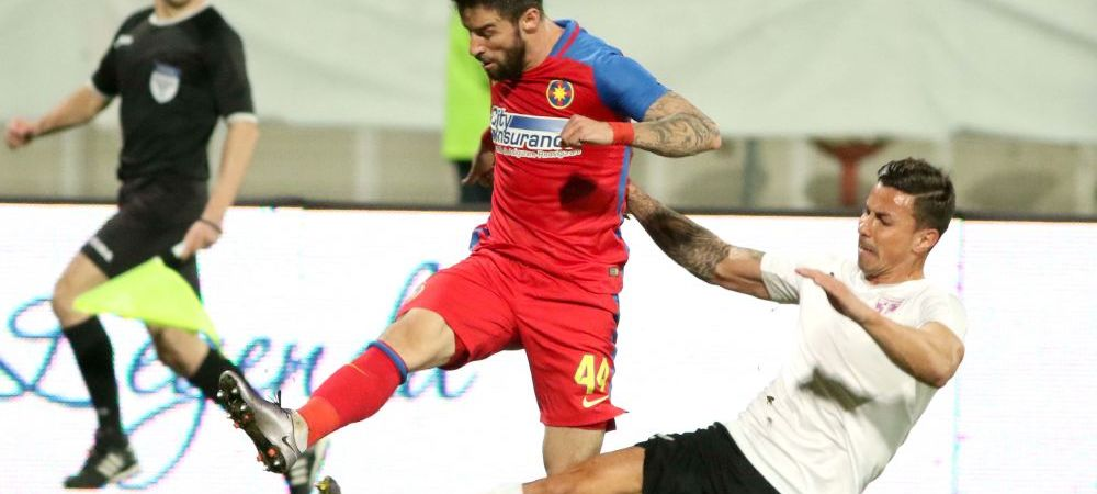 Egalitate dupa doua meciuri: Steaua si Voluntari s-au intalnit doar in sezonul trecut, ilfovenii au dat lovitura in februarie cu Achim si Moke in primul 11. Cum au aratat intalnirile precedente