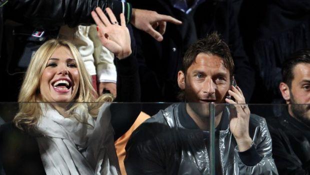 """""""E incredibil! Totti a fost dat afara din propria casa! Spalletti e un om MIC!"""" Atac fara precedent al lui Ilary Blasi, sotia lui Totti, la adresa antrenorului Romei, inaintea meciului cu Astra"""