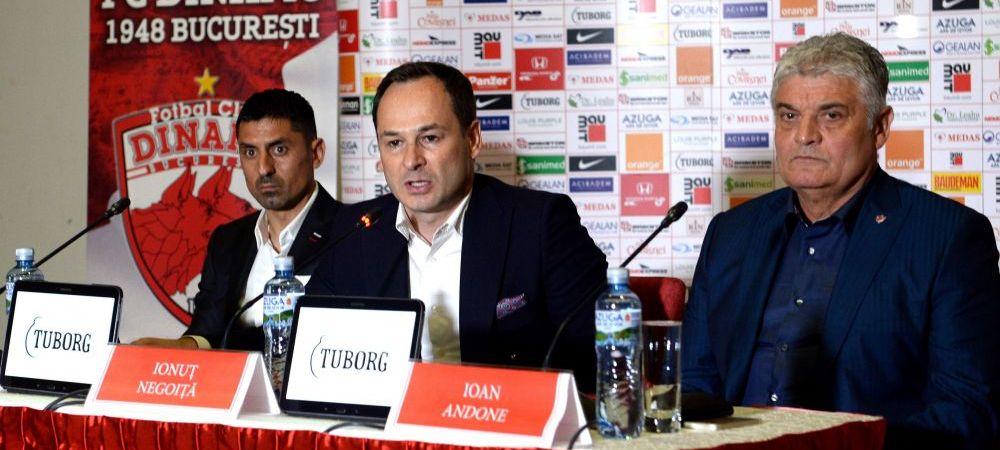 Sumudica la Dinamo? Negoita vorbeste in premiera despre schimbarea de antrenor! Ce spune despre Andone