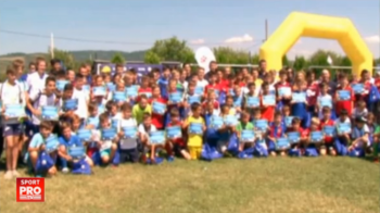 VIDEO O sansa in plus pentru pustii de la sate! FRF si Gillette cauta tinere talente la nivel rural