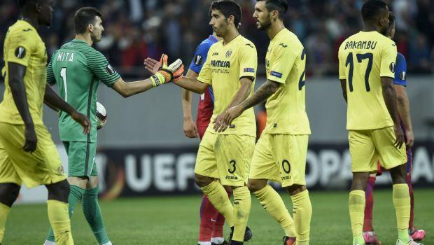 """""""Si eu am vazut hentul; Sunt multumit cu acest punct"""". Antrenorul lui Villarreal a recunoscut ca Steaua merita un penalty. Cei 3 stelisti pe care i-a laudat"""