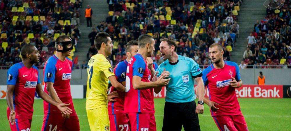 GALERIE FOTO | Cum s-a vazut Steaua - Villarreal de pe National Arena: explozie de bucurie la golul lui Sulley si de nervi la penaltyul refuzat la hentul lui Rukavina