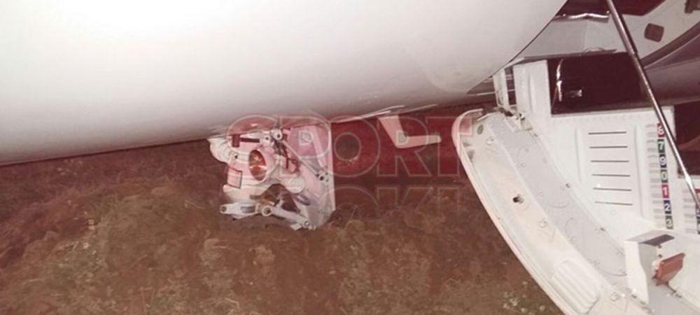 Cauza accidentului in care a fost implicat avionul lui Ronaldo. Ce au descoperit spaniolii dupa incidentul de la Barcelona