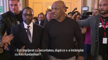 """Unde-i Nasty? Nasty? Nastyyyy!"" Momente senzationale cu Mike Tyson si Ilie Nastase in Parlamentul Romaniei"