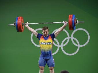 Romania ramane fara bronzul la haltere: Sincraian, suspendat provizoriu dupa ce a fost depistat dopat