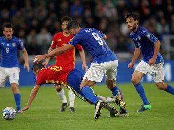 Un jucator a fost DAT AFARA de la nationala dupa meciul Italia - Spania! Gestul pe care l-a facut