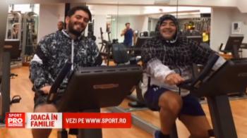 Maradona va juca pentru prima data impotriva fiului pe care nu l-a recunoscut timp de 20 de ani, intr-un meci organizat de Papa Francisc