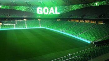 Imagini impresionante cu noul stadion inaugurat la Krasnodar: prima arena cu ecran 360 de grade, conceptul de tabela a disparut FOTO