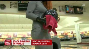 Castiga in CUPLU la bowling! :) Finala celui mai tare turneu din Estul Europei e in direct la Sport.ro, duminica de la 19:30